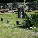 Some tiny headstones