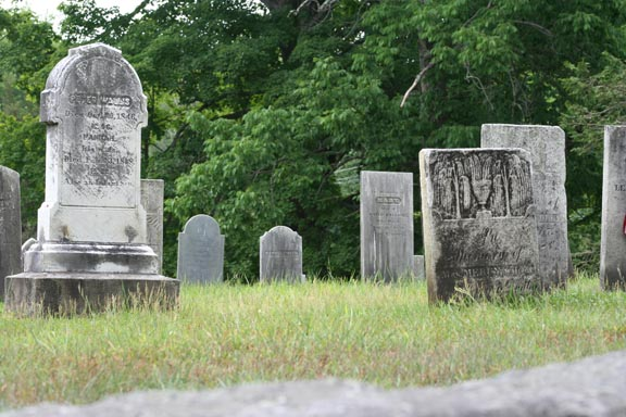 Peter and Mary's headstones