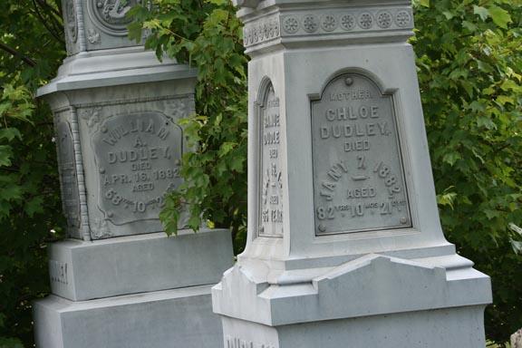 Details of the beautiful Dudley Obelisks