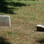 2 small headstones