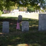 3 diffferent style and size headstones