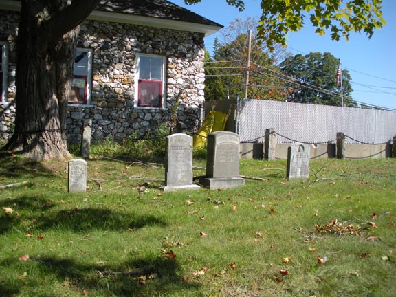 4 different headstone styles