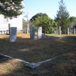 A family plot? It looks as though there used to be more headstones
