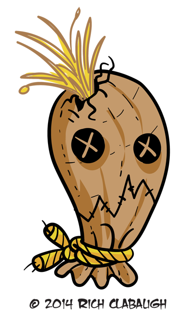 1007-Scarecrow--MONSTER-FACES-