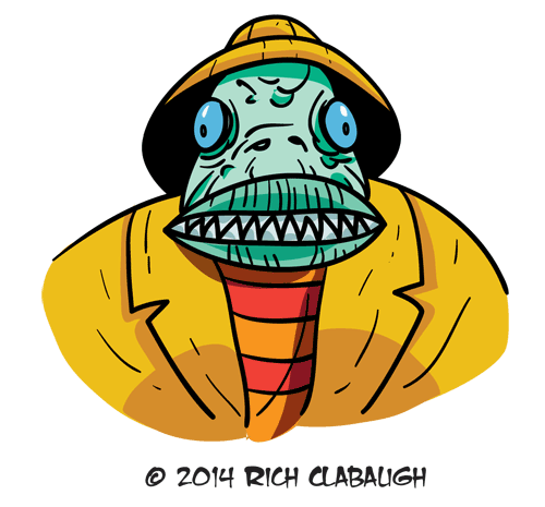 1014-Fisherman--MONSTER-FACES-