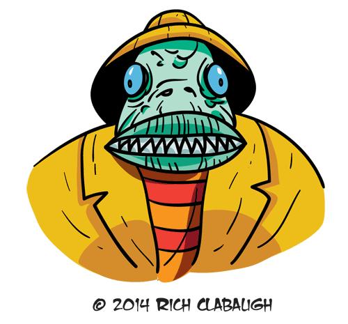 1014-Fisherman--MONSTER-FACES-