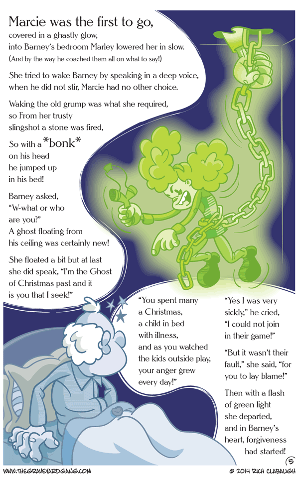 Issue #3 – Page 17: The first Christmas Spirit