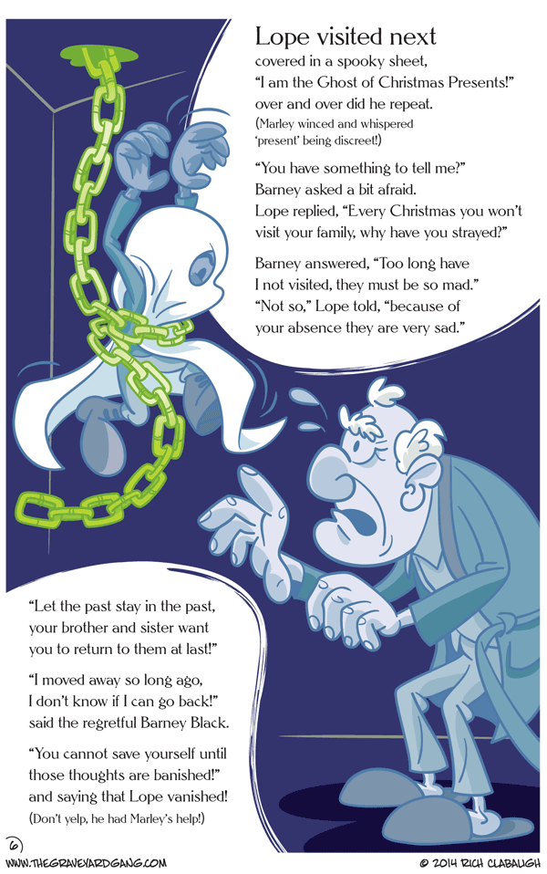 Issue #3 – Page 18: The Second Christmas Spirit