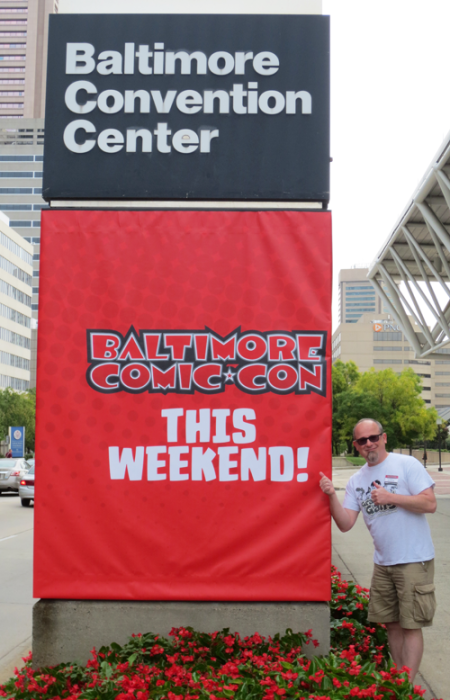 Here I am in Baltimore all ready for a fun weekend!