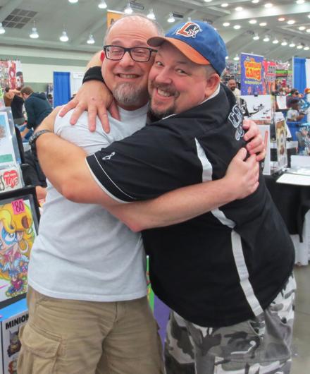 So nice to meet my fellow Werewolf creator Chris Flick!