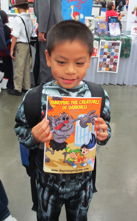 Xavier picked up Issue #3!