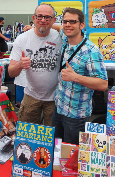 Stopping by to say hi to the amazing Mark Mariano!