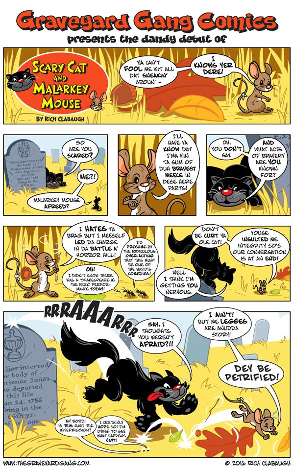 Scary Cat & Malarkey Mouse #1