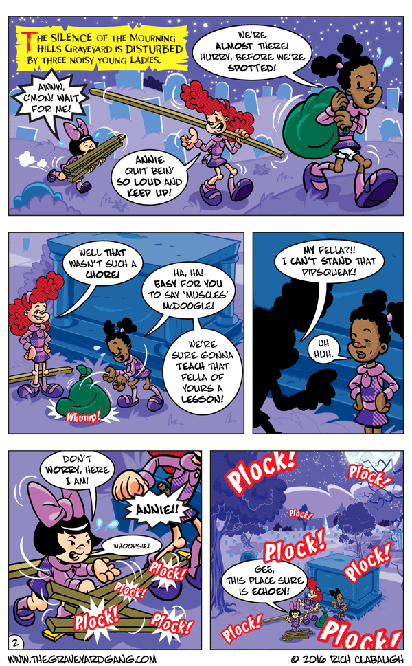 The Graveyard Girls' Club – Don't Mess With Midnight Mary pg.2