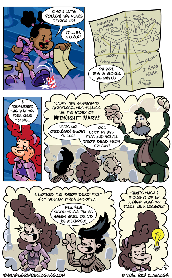 The Graveyard Girls' Club – Don't Mess With Midnight Mary pg.3