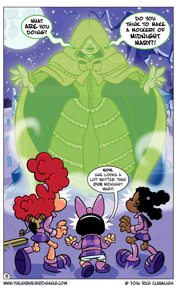 The Graveyard Girls' Club – Don't Mess With Midnight Mary pg.8